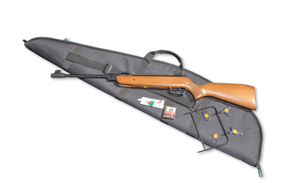 The Gamo comes complete with gun bag, pellets, fun targets and metal plinking frame
